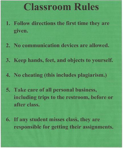 Modern Classroom Rules ~ Is cheating the new life skill learn ed leadership